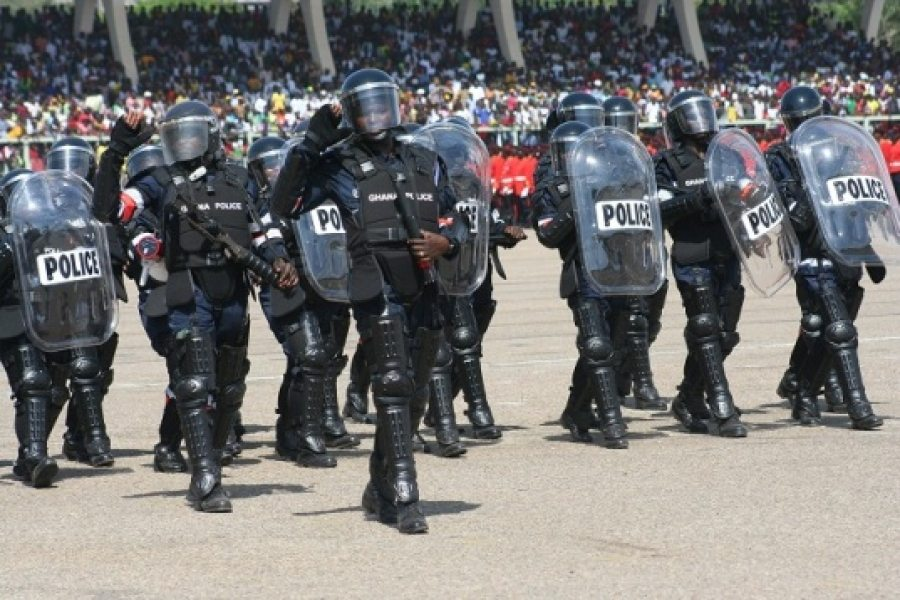 Dr. Lawrence writes: The state of the Ghana Police under Nana Akufo-Addo