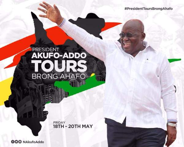 President Akufo-Addo to begin Western, Central Regions tour from Tuesday