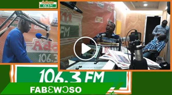 GH¢4.5m scandal: Korsi Senyo clashes with Registrar General's Lawyer on Adom FM (VIDEO)