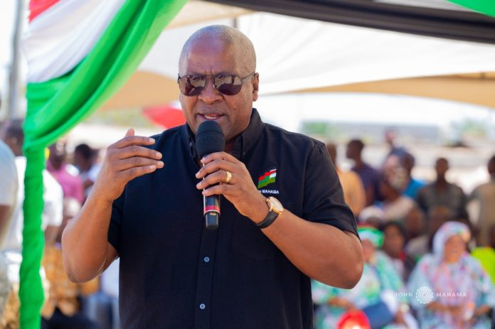 Kum Y3n Pr3ko: Come out to show your anger against hardships, insecurity, oppression – Mahama