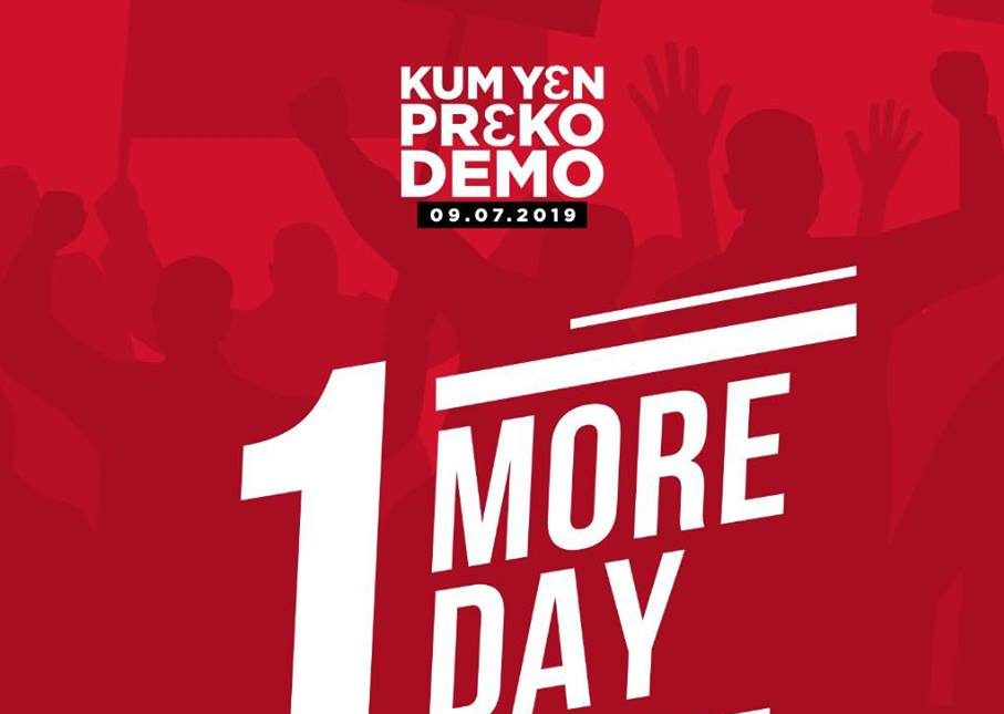 """""""KUM Y3N PR3KO"""" – mother of all demonstrations finally comes off tomorrow"""