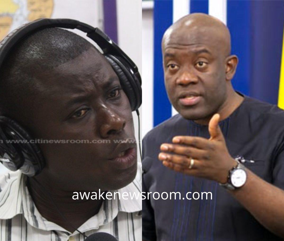 """A 'useful idiot' is what you have become"" – Elikem Kotoko replies Oppong Nkrumah"